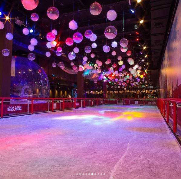 pista patinação